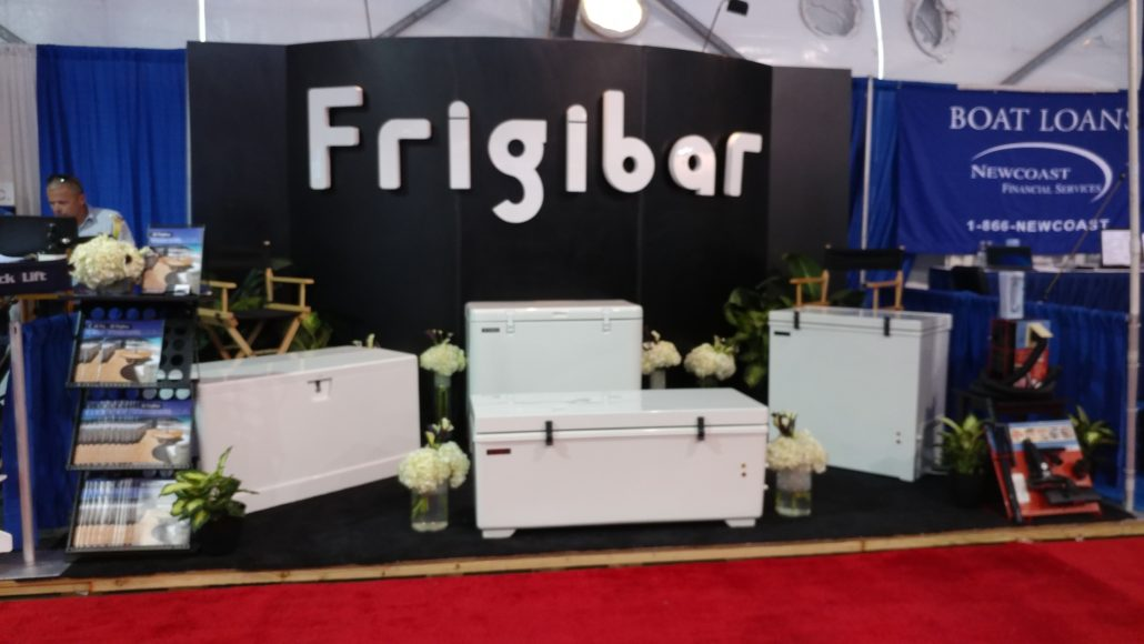 Fort Lauderdale International Boat Show Booth Frigibar