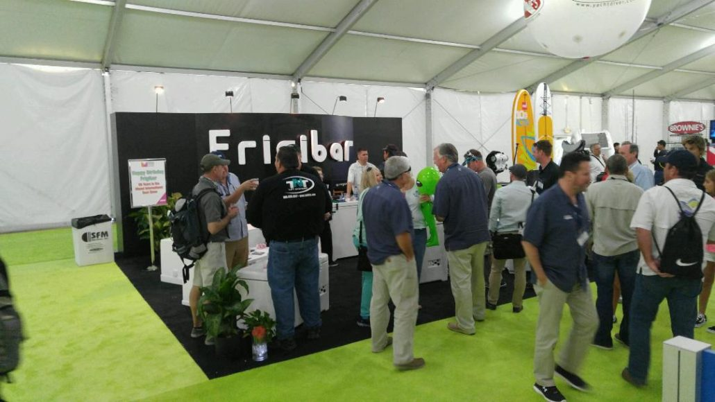 Frigibar Booth at MIBS 2016